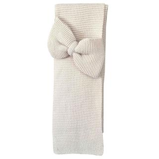 Maje Wool Knit Bow Detailed Scarf