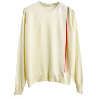 Celine by Phoebe Philo ivory sweater