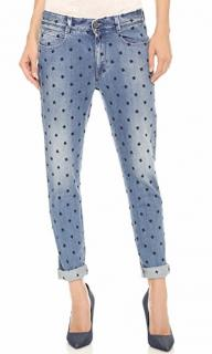 Stella McCartney Star Embroidered Slim Fit Jeans