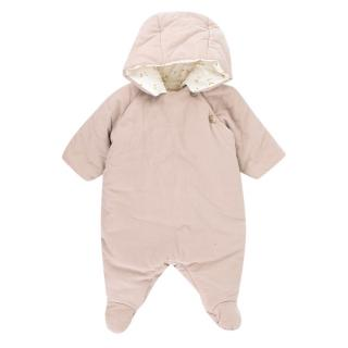 Bonpoint Neige Snowsuit Dusty Pink