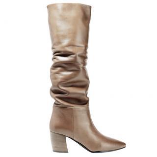 Prada Leather Knee Boots - New Season