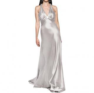 Caroline Castigliano Ivory Kiwi Dress