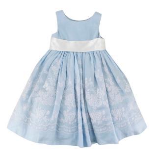 Ralph Lauren Girls Embroidered Dress
