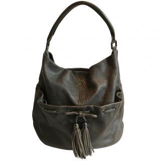 Anya Hindmarch Drawstring Leather Bag