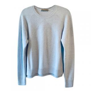 Cruciani Pale Blue Cashmere Sweater