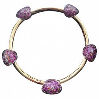 Pomellato Diamond & Sapphire Gold Tango Bracelet