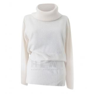Max Mara Cashmere & Wool Blend Roll Neck Jumper