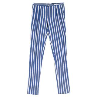 Loro Piana Striped Linen Trousers