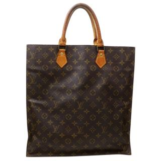 Louis Vuitton Sac Plat Monogram Tote Bag