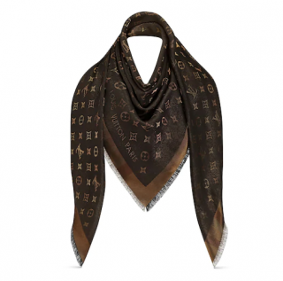 Louis Vuitton So Shine Monogram Shawl - New Season