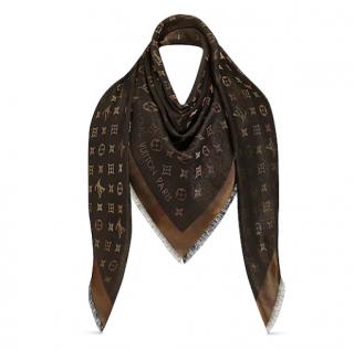 Louis Vuitton So Shine Monogram Shawl - New Season