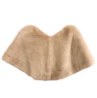 Marella Faux Fur Cape