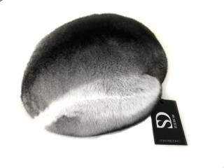 FurbySD Chinchilla Fur Beret