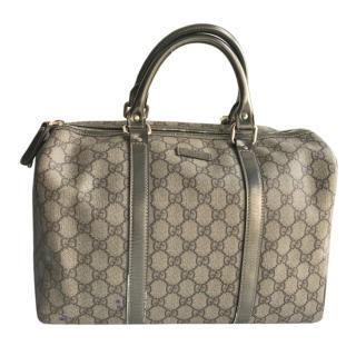 Gucci Monogram Boston Bag