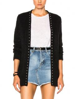 Saint Laurent Studded Cardigan