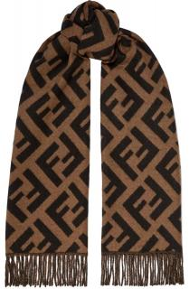 Fendi Monogram Cashmere Scarf - New Season