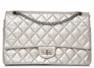 CHANEL Metallic Aged Calfskin Quilted 2.55 Reissue 226 Flap Bag