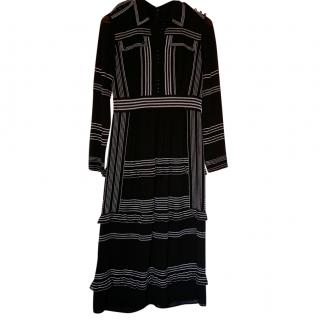 Burberry Stitch Contrast Shirt Dress