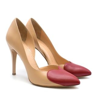 Charlotte Olympia Love Vamp High Heeled Pumps