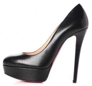 Christian Louboutin  Kid Leather Bianca 120 Pumps