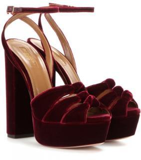 Aquazzura Mira platform sandals