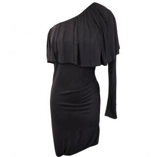 Yigal Azrouel One Shoulder Ruffled Dress