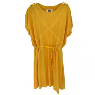 MM6 Yellow Jersey Dress