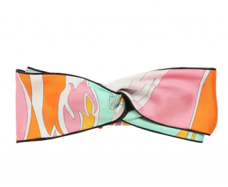 Emilio Pucci Printed Headband