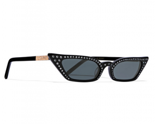 Poppy Lissiman Le Skinny Luxe cat-eye crystal-embellished sunglasses