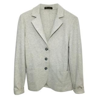 Loro Piana grey cashmere blazer