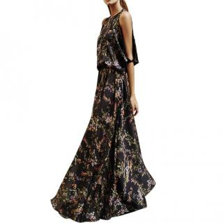 Alexis Angia Floral Maxi Dress in Black