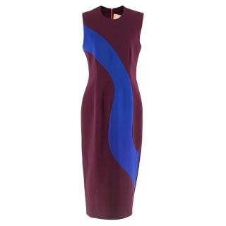 Roksanda Sleeveless Colour Block Dress