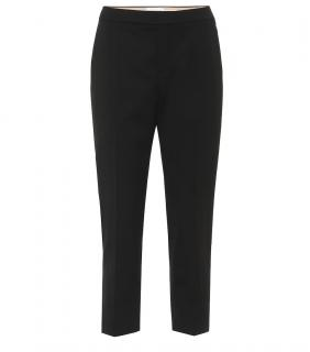 Chloe Cropped Black Pants