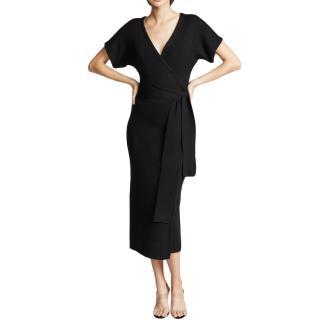 Mara Hoffman Black Alpaca Knit Joss Dress