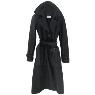 Allegri Cashmere Black Wrapped Coat