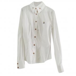 Vivienne Westwood White Orb Blouse