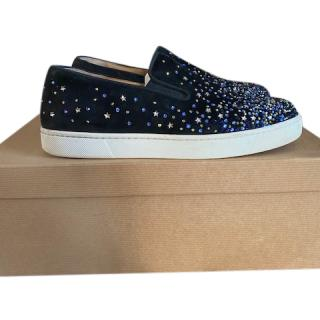 Christian Louboutin DOLCITA FLAT STRASS Flat shoes