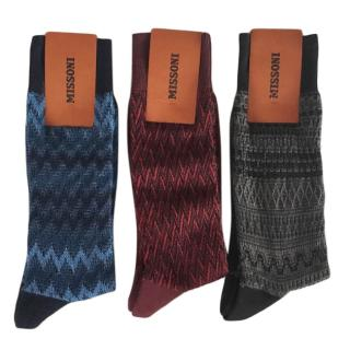 Missoni Zig-Zag Knit Socks Set