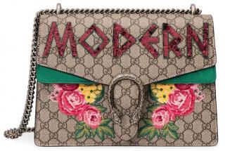Gucci Multicolor Medium Dionysus Modern Embellished Bag