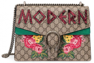 Gucci Multicolor Medium Dionysus Modern Embellished Bag