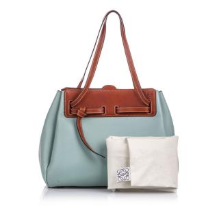 Loewe Leather Lazo Tote Bag