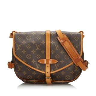 Louis Vuitton Monogram Saumur 30 Satchel