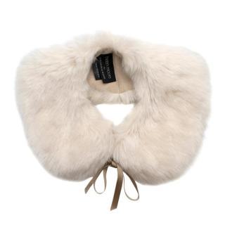 Helen Moore for Fortnum & Mason faux fur collar