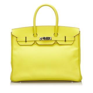 Hermes Yellow Epsom 35cm Birkin