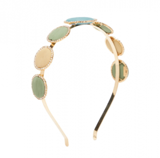Rosantica Origine crystal-embellished circle headband