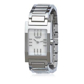 Hermes Tandem Stainless Steel Watch