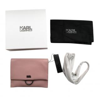 Karl Lagerfeld Dusty Pink Crossbody Bag