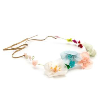 Cecile Boccara Floral Crown Headband