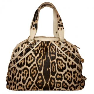 Yves Saint Laurent Leopard Print Muse Bag