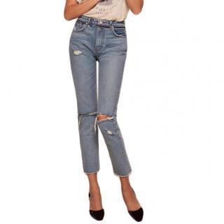 Reformation Julia cigarette jeans